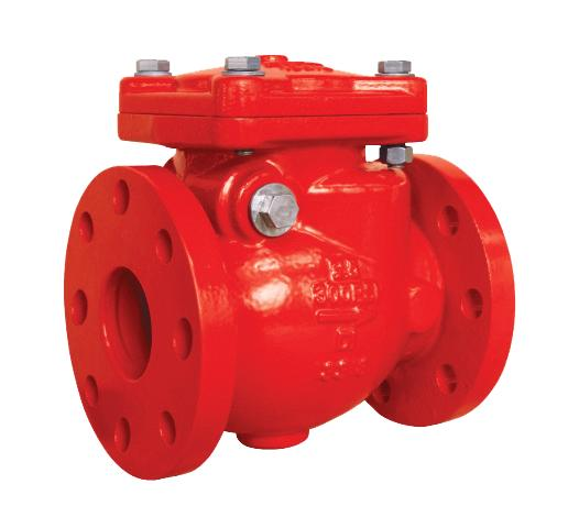 Flanged Swing Check Valve Fire Industry Supplies